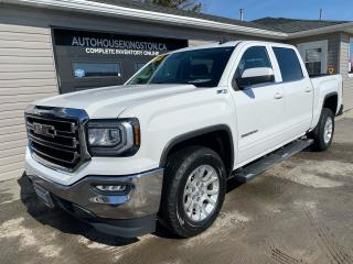 Used 2018 GMC Sierra 1500 SLE Z71 - 4X4 - HEATED SEATS - POWER PEDALS for sale in Kingston, ON
