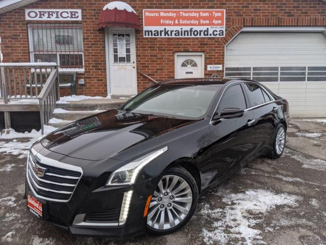 2015 Cadillac CTS Performance RWD 3.6 V6 Nav Pano Roof Back Up Cam