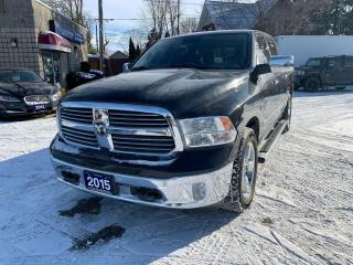 Used 2015 RAM 1500 Big Horn Eco Diesel 4x4 No Accidents for sale in Windsor, ON