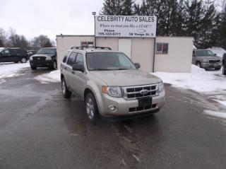 Used 2012 Ford Escape XLT AWD for sale in Elmvale, ON