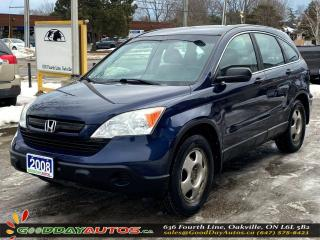 Used 2008 Honda CR-V LX|SINGLE OWNER|AWD|WARRANTY|CERTIFIED for sale in Oakville, ON