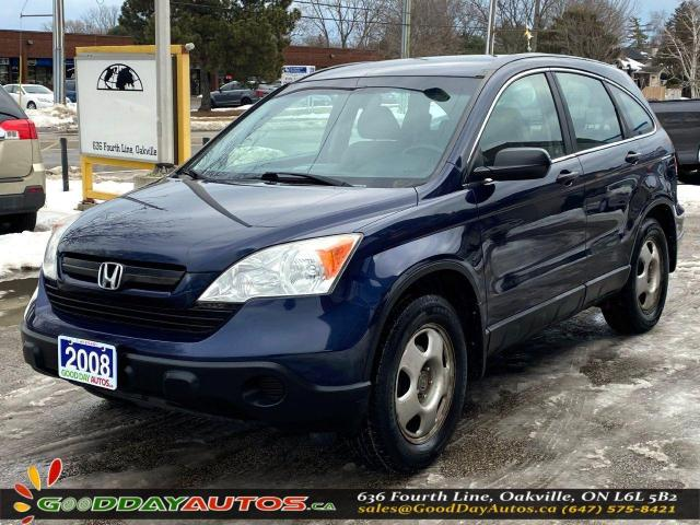 2008 Honda CR-V LX|SINGLE OWNER|AWD|WARRANTY|CERTIFIED