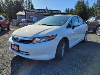 Used 2012 Honda Civic LX for sale in Black Creek, BC
