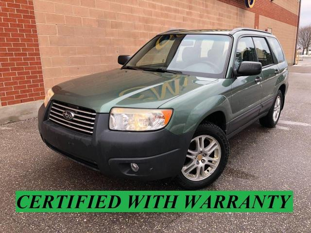 2007 Subaru Forester NO ACCIDENTS/SAFETY AND WARRANTY