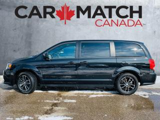 Used 2017 Dodge Grand Caravan SXT / DVD / NO ACCIDETNS for sale in Cambridge, ON