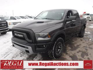 Used 2015 RAM 1500 Rebel Crew CAB SWB 4WD 5.7L for sale in Calgary, AB