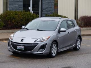 Used 2010 Mazda MAZDA3 2.5 GT,SUNROOF,FOG LIGHTS,LOADED,CERTIFIED, for sale in Mississauga, ON