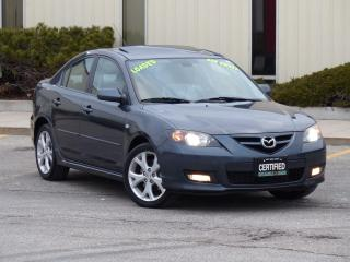 Used 2009 Mazda MAZDA3 GT,HEATED SEATS,SUNROOF,NO-ACCIDENT,CERTIFIED, for sale in Mississauga, ON