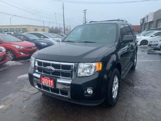 Used 2011 Ford Escape LIMITED 4WD for sale in Hamilton, ON