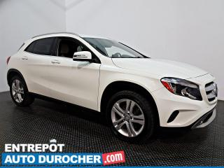 Used 2017 Mercedes-Benz GLA GLA 250- AWD - CUIR- AIR CLIMATISÉ for sale in Laval, QC