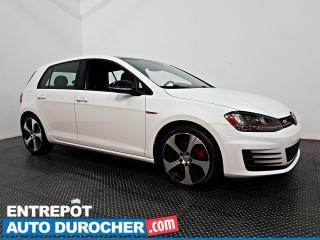 Used 2017 Volkswagen Golf GTI AUTOBAHN - AUTOMATIQUE - NAVIGATION - CUIR - A/C for sale in Laval, QC