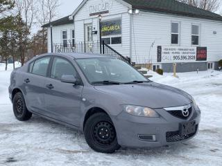 Used 2008 Mazda MAZDA3 No-Accidents GS A/C Power Group Gas Saver for sale in Sutton, ON