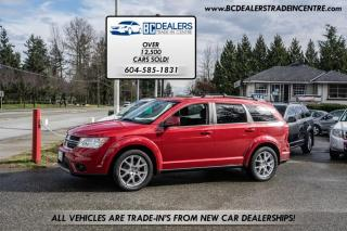 Used 2012 Dodge Journey SXT, Only 106,000 km's, 3rd Row Seats, V6 Engine, Sunroof for sale in Surrey, BC