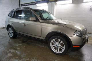 Used 2008 BMW X3 3.0si AWD *FREE ACCIDENT* PANO SUNROOF BLUETOOTH HEATED LEATHER SEATS & STEERING FRONT/REAR PARKING SENSORS for sale in Milton, ON