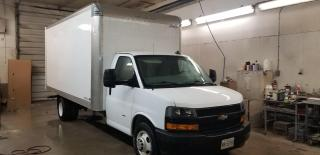 """2019 Chevrolet Express G3500 177"""" cube truck"""