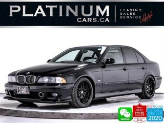 Used 2000 BMW M5 V8, MANUAL, HEATED, NAV, NEW COILOVERS, SUNROOF for sale in Toronto, ON