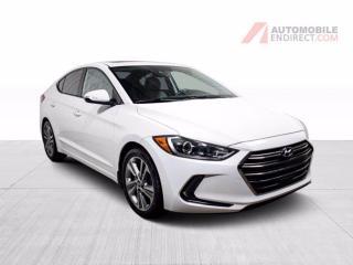 Used 2018 Hyundai Elantra GLS CUIR TOIT MAGS CAMERA DE RECUL for sale in St-Hubert, QC
