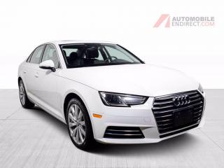 Used 2017 Audi A4 KOMFORT QUATTRO CUIR TOIT MAGS for sale in St-Hubert, QC