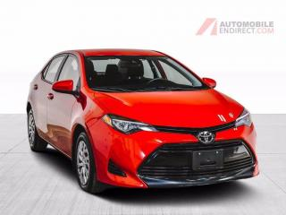 Used 2018 Toyota Corolla LE A/C CAMERA RECUL BLUETOOTH for sale in St-Hubert, QC