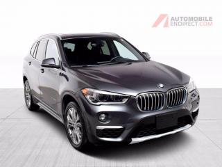 Used 2017 BMW X1 28i xDrive Cuir Toit Pano GPS Sièges Chauffants for sale in St-Hubert, QC