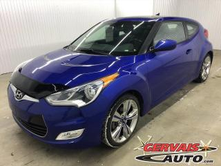 Used 2013 Hyundai Veloster W/Tech GPS MAGS CUIR/TISSU TOIT PANORAMIQUE for sale in Trois-Rivières, QC