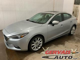 Used 2017 Mazda MAZDA3 GT GPS Toit ouvrant Caméra A/C Mags for sale in Trois-Rivières, QC