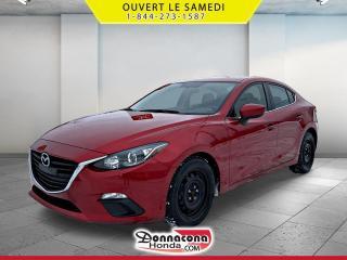 Used 2015 Mazda MAZDA3 GS *JAMAIS ACCIDENTE* for sale in Donnacona, QC
