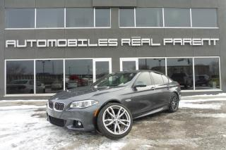 Used 2016 BMW 535 XDRIVE - M PACK - NAVI - TOIT - CAMERA - for sale in Québec, QC