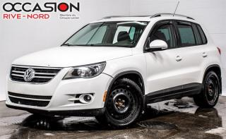 Used 2010 Volkswagen Tiguan 4x4 Toit ouvrant AUBAINE!!! for sale in Boisbriand, QC