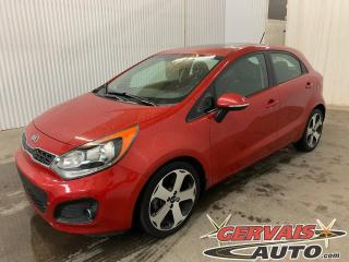 Used 2014 Kia Rio 5 SX GPS Cuir Toit Ouvrant Caméra Mags *Bas Kilométrage* for sale in Shawinigan, QC