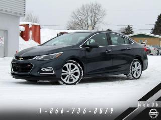 Used 2017 Chevrolet Cruze PREMIER RS + 1SF + CUIR + GARANTIE! for sale in Magog, QC