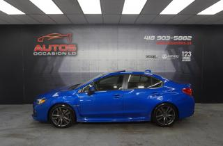 Used 2016 Subaru WRX SPORT TECH PKG AWD CUIR TOIT GPS NAV CAM 96 834 KM for sale in Lévis, QC