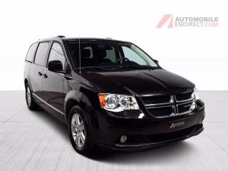 Used 2020 Dodge Grand Caravan CREW PLUS STOW N GO CUIR GPS TV/DVD CAMERA DE RECU for sale in Île-Perrot, QC