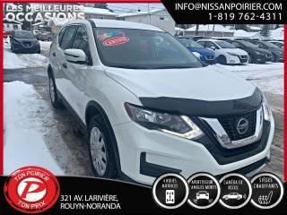 Used 2019 Nissan Rogue S TI (frais vip 395$ non inclus) for sale in Rouyn-Noranda, QC