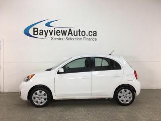 Used 2019 Nissan Micra - AUTO! A/C! PWR GROUP! TOUCHSCREEN RADIO! for sale in Belleville, ON