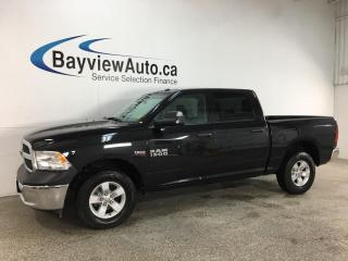 Used 2018 RAM 1500 ST - 4X4! REVERSE CAM! HITCH! FULL PWR GROUP! for sale in Belleville, ON