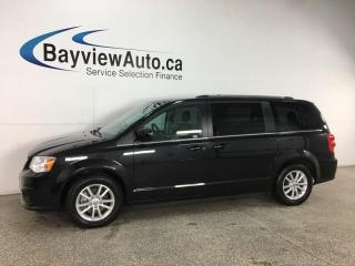 Used 2019 Dodge Grand Caravan CVP/SXT - DVD! LEATHER TRIM! PWR SEAT! DUAL CLIMATE! ALLOYS! + MORE! for sale in Belleville, ON