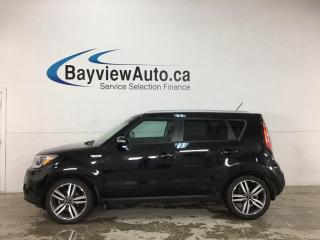 Used 2017 Kia Soul EX Tech - AUTO! NAV! HTD LEATHER! PANOROOF! ONLY 30,000KMS! for sale in Belleville, ON