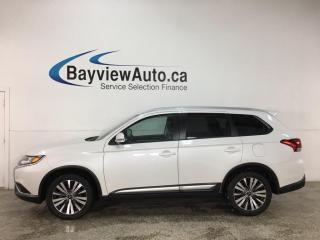 Used 2020 Mitsubishi Outlander ES - AWD! 1/2 LEATHER! SUNROOF! 7 PASSENGER! for sale in Belleville, ON