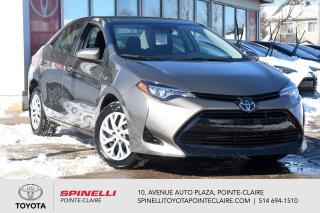 Used 2017 Toyota Corolla LE SIÈGES CHAUFFANT for sale in Pointe-Claire, QC