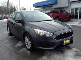 Used 2016 Ford Focus SE ALLOYS, BACKUP CAM, BLUETOOTH!! for sale in Kingston, ON