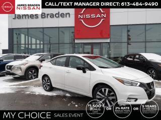 New 2021 Nissan Versa 1.6 SR SR for sale in Kingston, ON