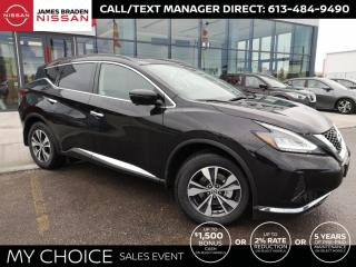 New 2021 Nissan Murano SV for sale in Kingston, ON