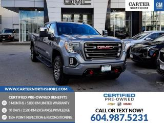 Used 2020 GMC Sierra 1500 AT4 NAVIGATION - MOONROOF - LEATHER - TECHNOLOGY PKG for sale in North Vancouver, BC