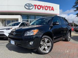 Used 2012 Toyota RAV4 4WD SPORT 4A for sale in Surrey, BC