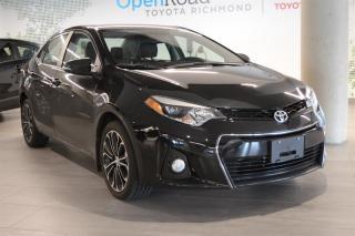 Used 2016 Toyota Corolla 4-door Sedan S CVTi-S for sale in Richmond, BC