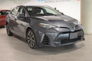 Used 2017 Toyota Corolla 4-door Sedan SE CVTi-S for sale in Richmond, BC