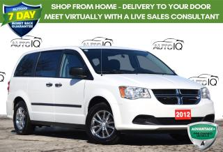 Used 2012 Dodge Grand Caravan SE/SXT LOW KM | 3.6L V6 | FWD | 7 SEATS for sale in Kitchener, ON