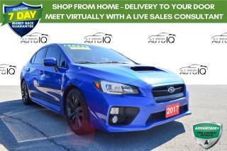 Used 2017 Subaru WRX Sport-tech AWD SPORTS SEDAN for sale in Grimsby, ON