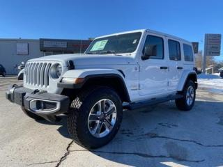 New 2021 Jeep Wrangler Unlimited Sahara | DUAL TOPS | LEATHER | NAV | LED for sale in Listowel, ON